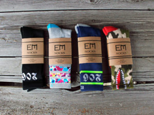 EM Socks Made in Seattle